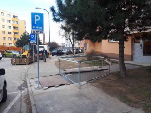 Oprava teplovodu na Závodskej ul v Bratislave